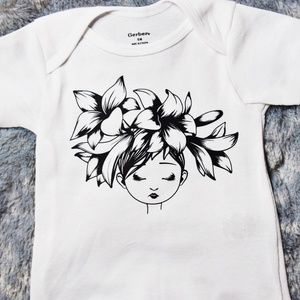 Host Pick - Custom Flower Child Infant T-shirt